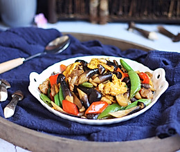 肉片炒黑鸡枞#做道好菜,自我宠爱!#的做法