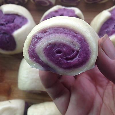 花样紫薯馒头~