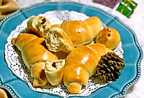 #馅儿料美食,哪种最好吃#口感更丰富的日式全麦葡萄干海盐面包的做法