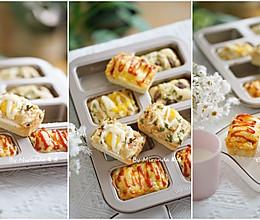 韩国超火的鸡蛋小面包(蒸烤箱版)的做法