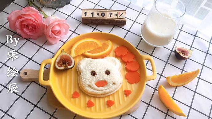 元气早餐:小熊三明治