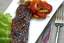 红酒黑胡椒烤牛排的做法
