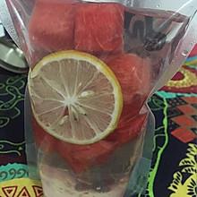 #自制饮料#西瓜柠檬排毒水