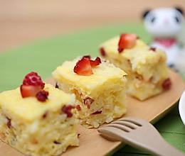 蔓越莓米饭蒸糕  宝宝健康食谱的做法