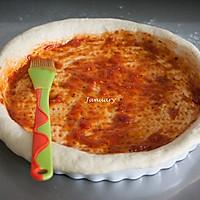巨无霸披萨#宜家让家更有味#的做法图解11