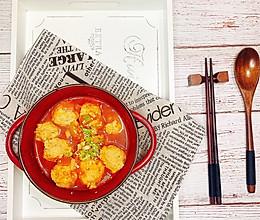 好吃不长肉的减肥餐-番茄鸡肉丸子的做法