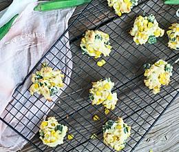 玉米秋葵饼干的做法