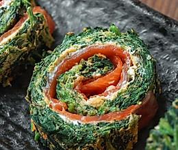 日食记 | 三文鱼菠菜卷的做法