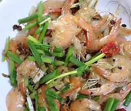 炒干虾#春天不减肥,夏天肉堆堆#的做法