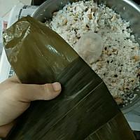 广式粽子的包法的做法图解2
