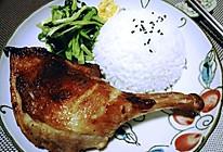 黑椒鸭腿饭,#我要上首页清爽家常菜#的做法
