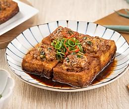 油豆腐包肉的做法