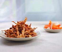 下酒菜之酥脆香辣咖喱杏鲍菇的做法
