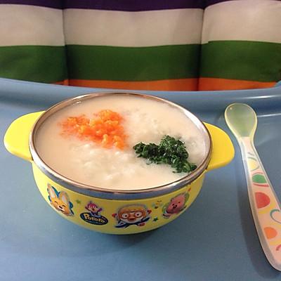 【宝宝食谱】—三文鱼蔬菜粥