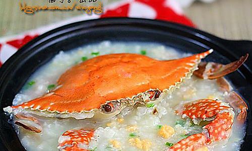 澳门水蟹粥的做法