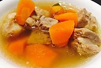 排骨胡萝卜汤的做法