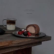 摩卡巧克力蛋糕卷