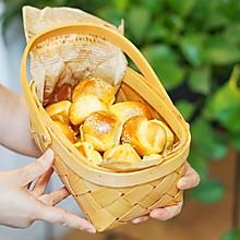 创意面包|健康早餐包-胡萝卜淡奶油小面包#硬核菜谱制作人#