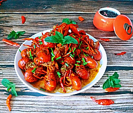 #母亲节,给妈妈做道菜#麻辣小龙虾的做法
