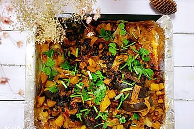 烤箱版豆豉烤鱼