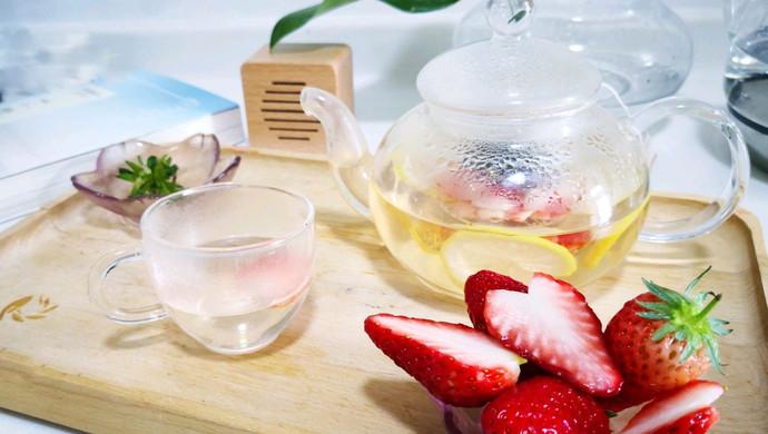 草莓桂花茶