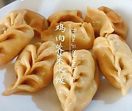 减脂利器之鸡肉荠菜水饺的做法