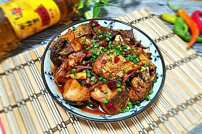 红烧鱼块#金龙鱼外婆乡小榨菜籽油 最强家乡菜#
