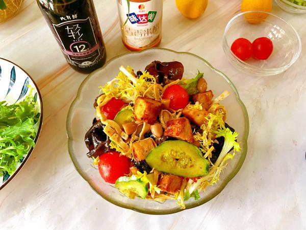 小满丨苦菊拌菜的做法