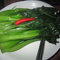 #菁选酱油试用之 白灼菜心的做法图解3