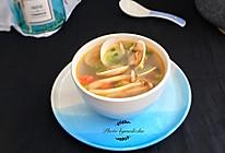 沙白菌菇汤的做法