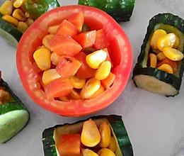 花式玉米豆的做法