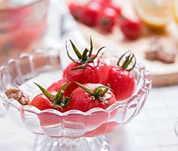 话梅渍小番茄的做法