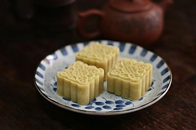 下午茶小点心(二):桂花绿豆糕
