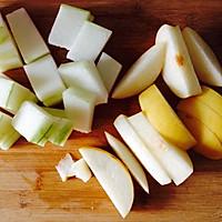 酥梨冬瓜汁的做法图解1