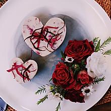 颜值最高的玫瑰山药泥之一