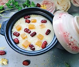 #人人能开小吃店#小米红薯粥的做法