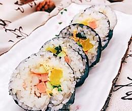 韩式紫菜包饭的做法