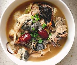 猴头菇竹荪乌鸡汤的做法