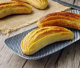 香蕉爆浆面包#美的烤箱菜谱#的做法