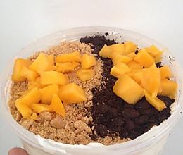 水果蛋糕盒子和淡奶油的保存方法的做法