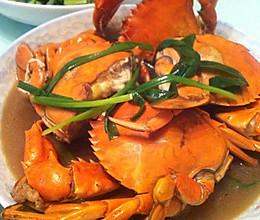 蒜香青蟹的做法