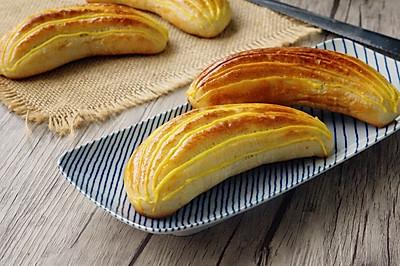 香蕉爆浆面包#美的烤箱菜谱#