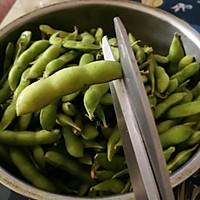 #父亲节,给老爸做道菜#五香毛豆的做法图解2