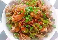 辣椒炒鸡腿肉的做法
