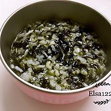 宝宝银鱼紫菜稀饭