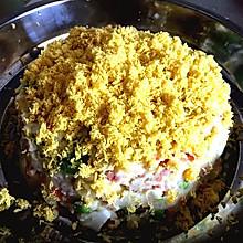 土豆泥沙拉蛋糕-看见就想吃的儿童健康美食