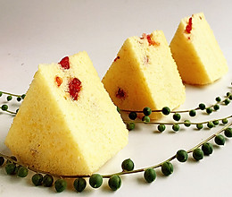 蔓越莓戚风蛋糕——酸甜的好滋味的做法