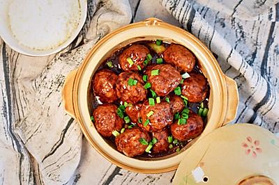 红烧豆腐丸子