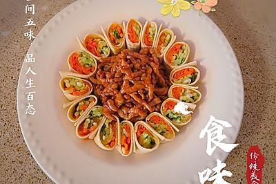 花开富贵京酱肉丝