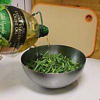 #白色情人节限定美味#自制蒸米粉-粉蒸茼蒿菜的做法图解10
